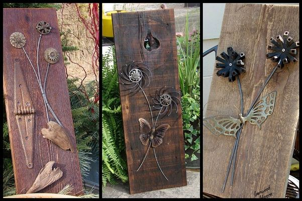 Jeanne s barnwood blooms crafts pinterest for Rustic wood crafts ideas