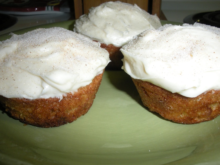 carrot apple cupcakes | Baking | Pinterest