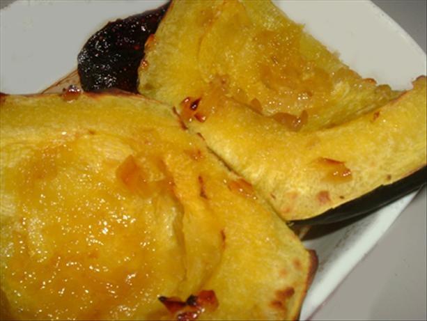 Acorn Squash with Orange Marmalade. This was VERY good!!