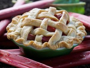 Bubbling with rosy rhubarb and scented with orange, these mini pies are an indulgent treat that makes everyone feel like the guest of honor.