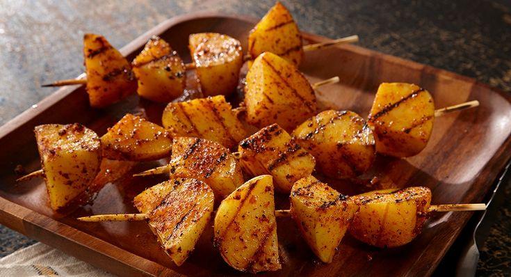 Grilled Potato Kabobs