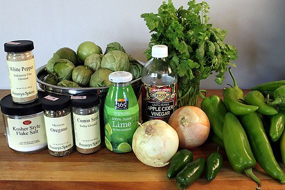 Roasted Tomatillo Salsa Verde | Recipe