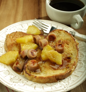 Spiced French Toast with Roasted Pineapple & Apple Maple Chicken ...