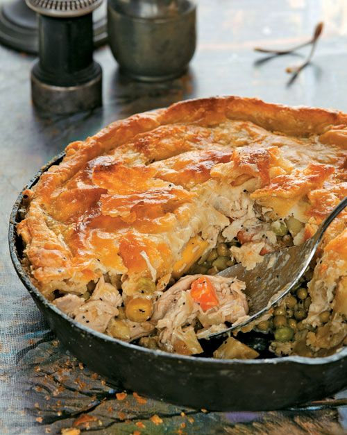 Fabulous double-crusted chicken pot pie recipe. An editor favorite!