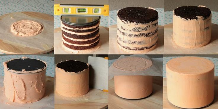Recouvrire Gateau Cake Design Avec Ganache
