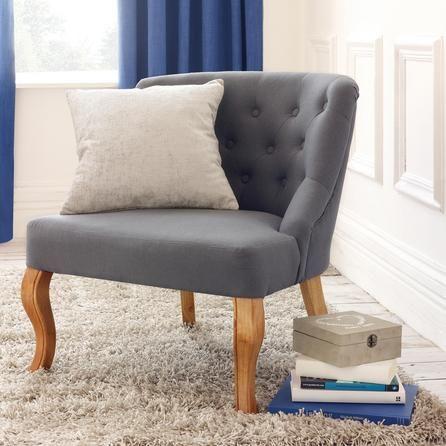 House Of Hampton Loughborough Antoinette Arm Chair