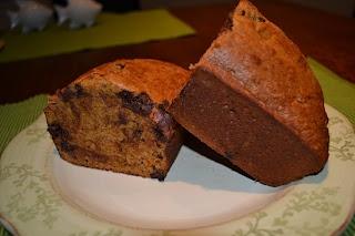 ... Healthy: Low Fat Chocolate Chip Pumpkin Bread made with Greek yogurt