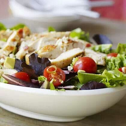 Chicken cobb salad | healthy and nutritious foods | Pinterest