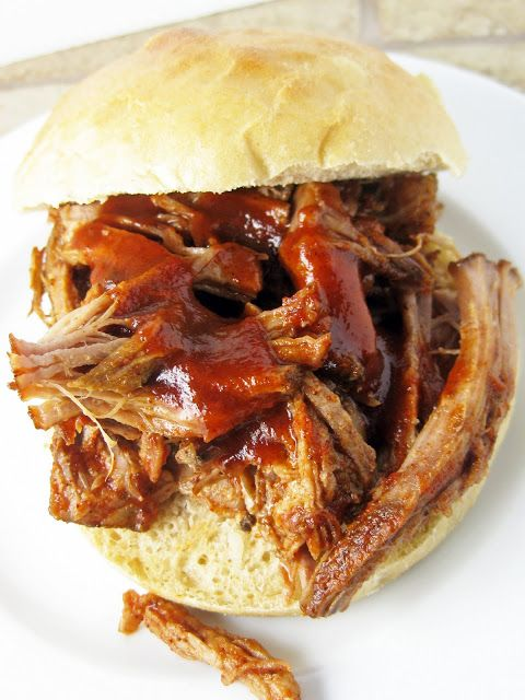 Slow-Roasted Pulled Pork with Sweet Vinegar Sauce