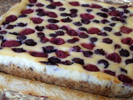 Recipe Girl: Red, White and Blueberry Cheesecake Bars