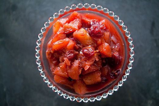 Apple Cranberry Chutney by Simply Recipes.