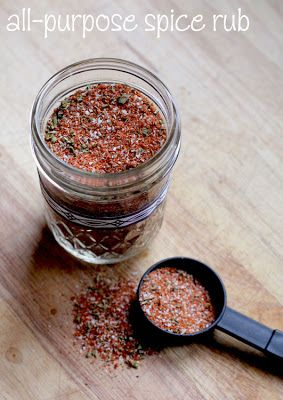 Less Processed Life: What Im Giving: All-Purpose Spice Rub