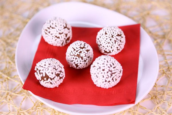 Carla Hall's Rum Balls I will be substituting orange juice for the Rum ...