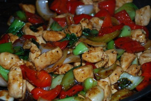 Chinese Chicken With Black Pepper Sauce Recipe - Food.com - 45308