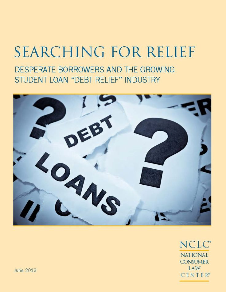 "programs. … A new ""student loan debt relief"" industry has sprung"