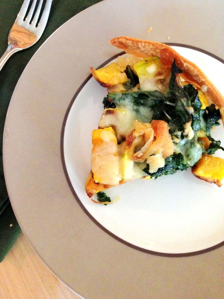 kale and butternut squash tart   Food and Recipes   Pinterest