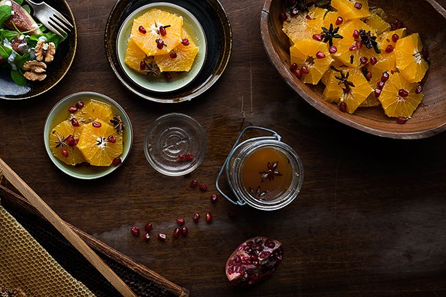Clementine Dessert Recipe With Honey & Ginger Syrup yummm!