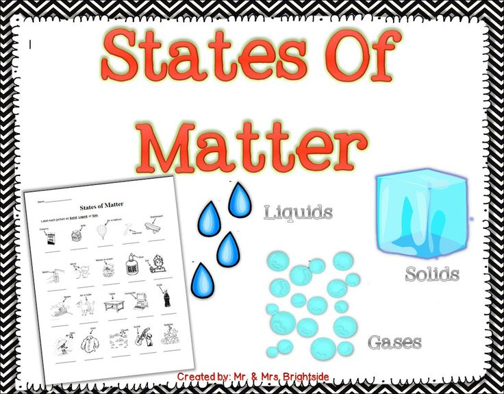 matter science Matter is all around us solid, liquid, and gas, everything you see, touch, and even breathe is made of matter matter is made of atoms, and the arrangement.