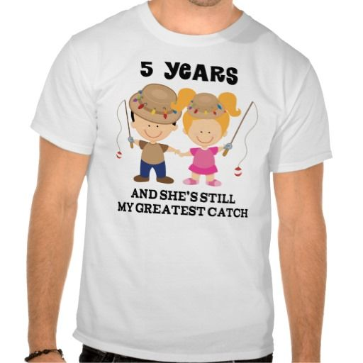 5th Wedding Anniversary Gift For Him Tshirts in each seller & make ...