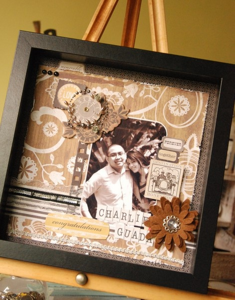 Wedding Gift Shadow Box : Wedding Shadow Box Gift Idea 4 My dream wedding Pinterest