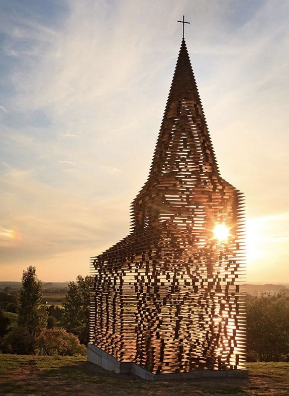 The Transparent Church in Borgloon, Belgium. God likes this.