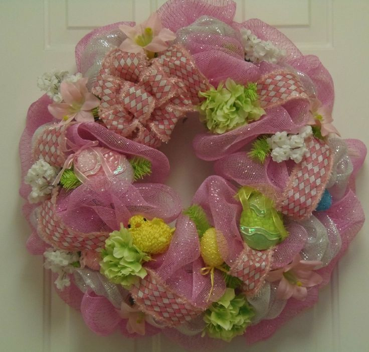 Easter Wreath Ideas Crafts Makeovers Design Ect