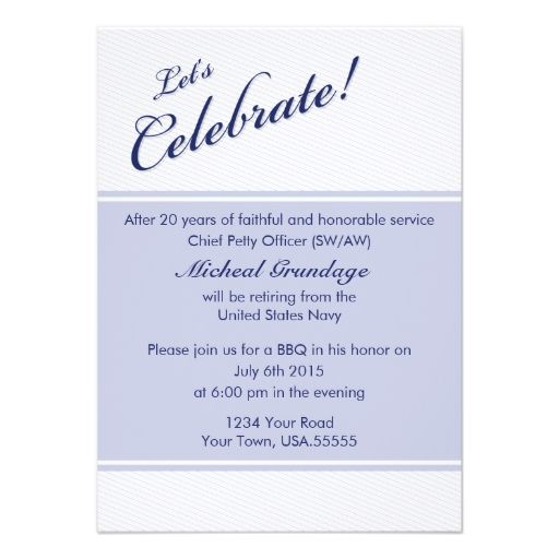 Military Retirement Party Invitations for perfect invitations layout