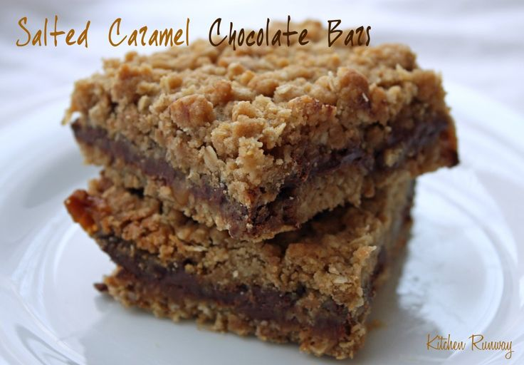 ... LOVE these bars. perfect combo of salt, caramel, chocolate and oats