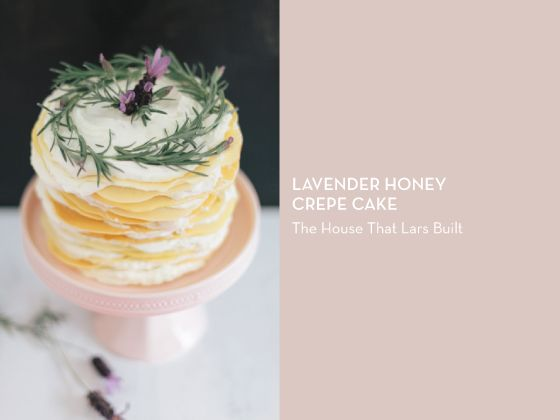 Honey Lavender Mille Crepes Cake Recipes — Dishmaps