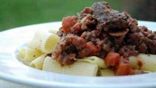 Braised Short Rib Ragu Recipe Text | Rouxbe Cooking School