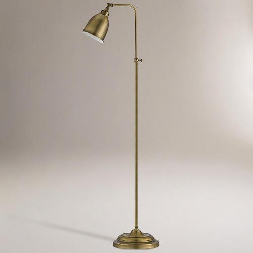 discoveries at antique bronze pharmacy floor lamp. Black Bedroom Furniture Sets. Home Design Ideas