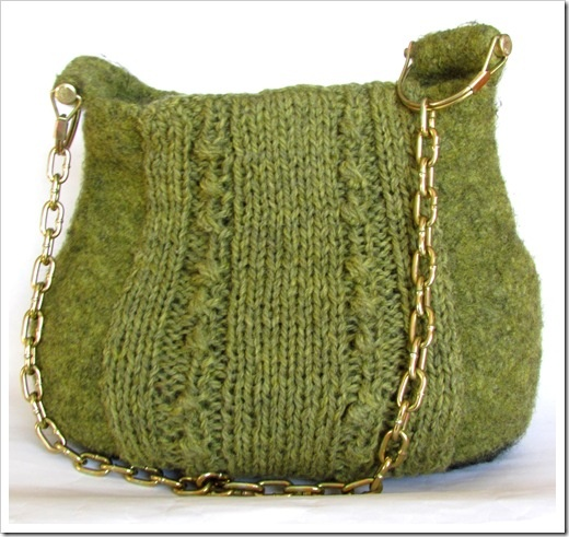 Knitted and Felted purse Crafts Pinterest