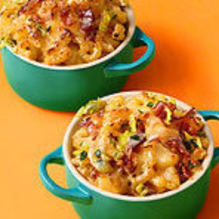 macaroni amp cheese with bacon and leeks recipe just a pinch recipes