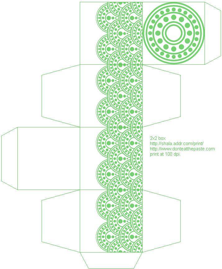 Free Wedding Gift Box Templates : Favor Box Favor Box template Pinterest