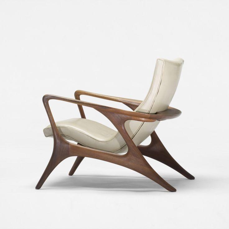 Vladimir Kagan Contour Lounge Chair Mid Century Modern Pinterest