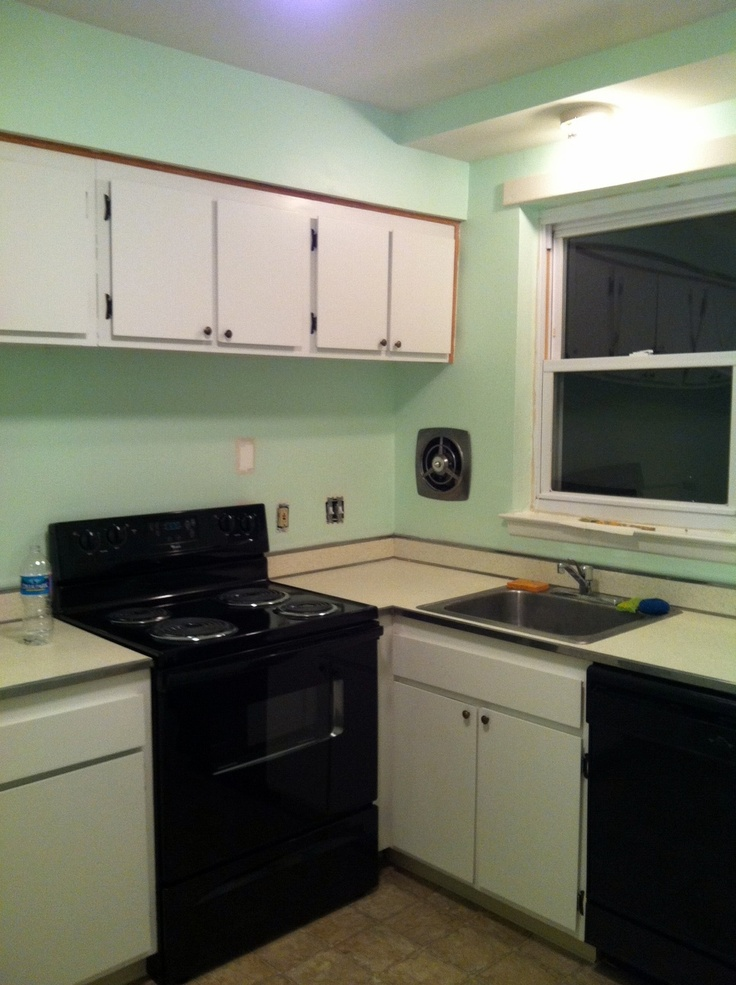 Mint Green Kitchen My Time Capsule Condo Pinterest