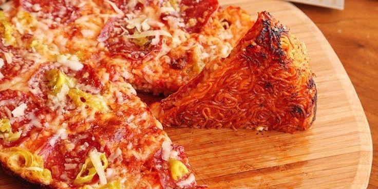 original recipe ramen burger pizza. ramen subs in Lopez creation: recipe ramen Alt's original