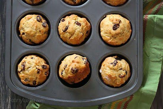 Whole Wheat Irish Soda Bread Muffins - skinnytaste.com
