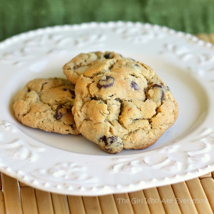 Peanut Butter Oatmeal Chocolate Chip Cookies | The Girl Who Ate ...