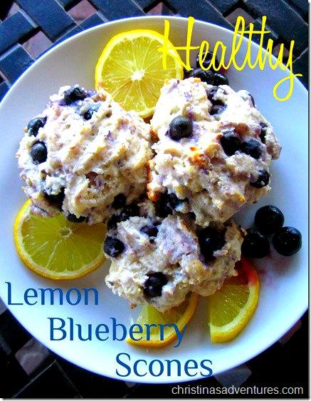 lemon blueberry scones | Eats: Breakie! | Pinterest
