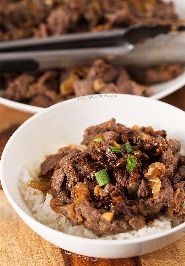 Korean Bulgogi | Recipe