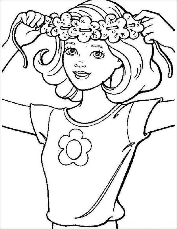 flower power coloring pages - photo#18