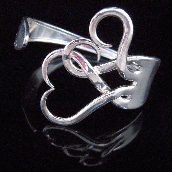 DIY fork bracelet. this is INSANE.