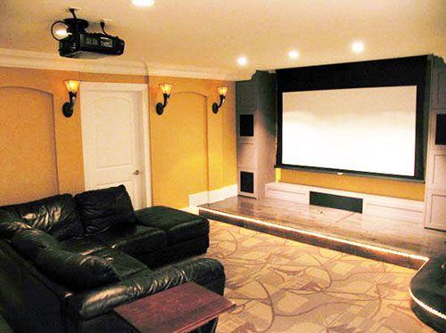 basement entertainment center ideas pinterest