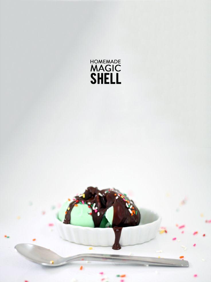 Homemade Magic Shell | Photography: Julie Blanner - julieblanner.com ...