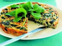 Leek, Spinach And Mushroom Frittata | My 12WBT board | Pinterest
