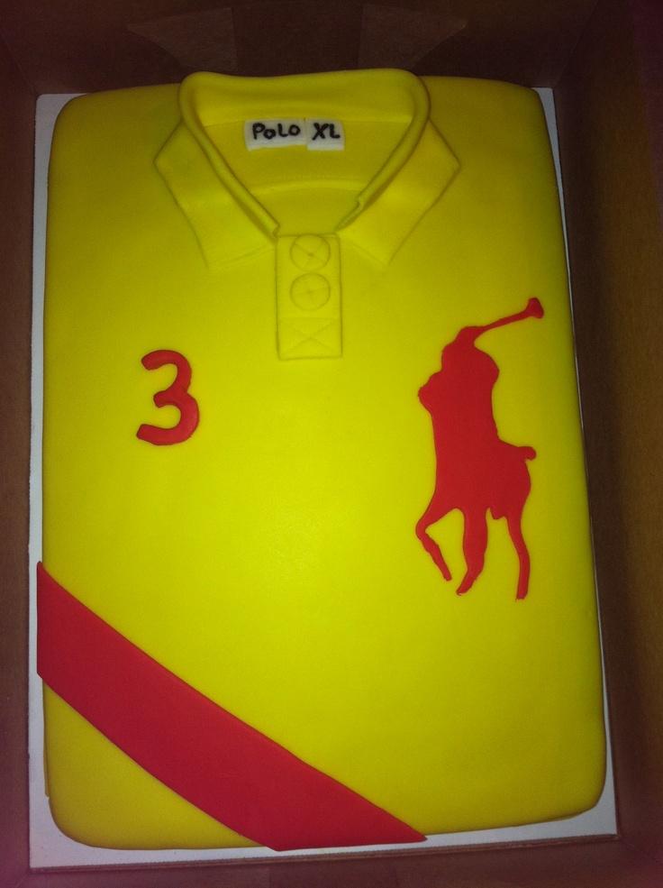 Cake Polo Shirt Design : Polo Shirt Cake... Cake idea Pinterest