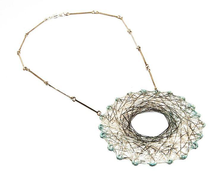 Spun necklace - 2013 - Laritza Garcia