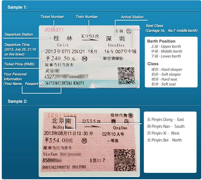 How to read train ticket asia my love pinterest