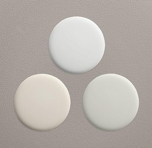 Mediterranean white sara pinterest for Restoration hardware paint colors photos